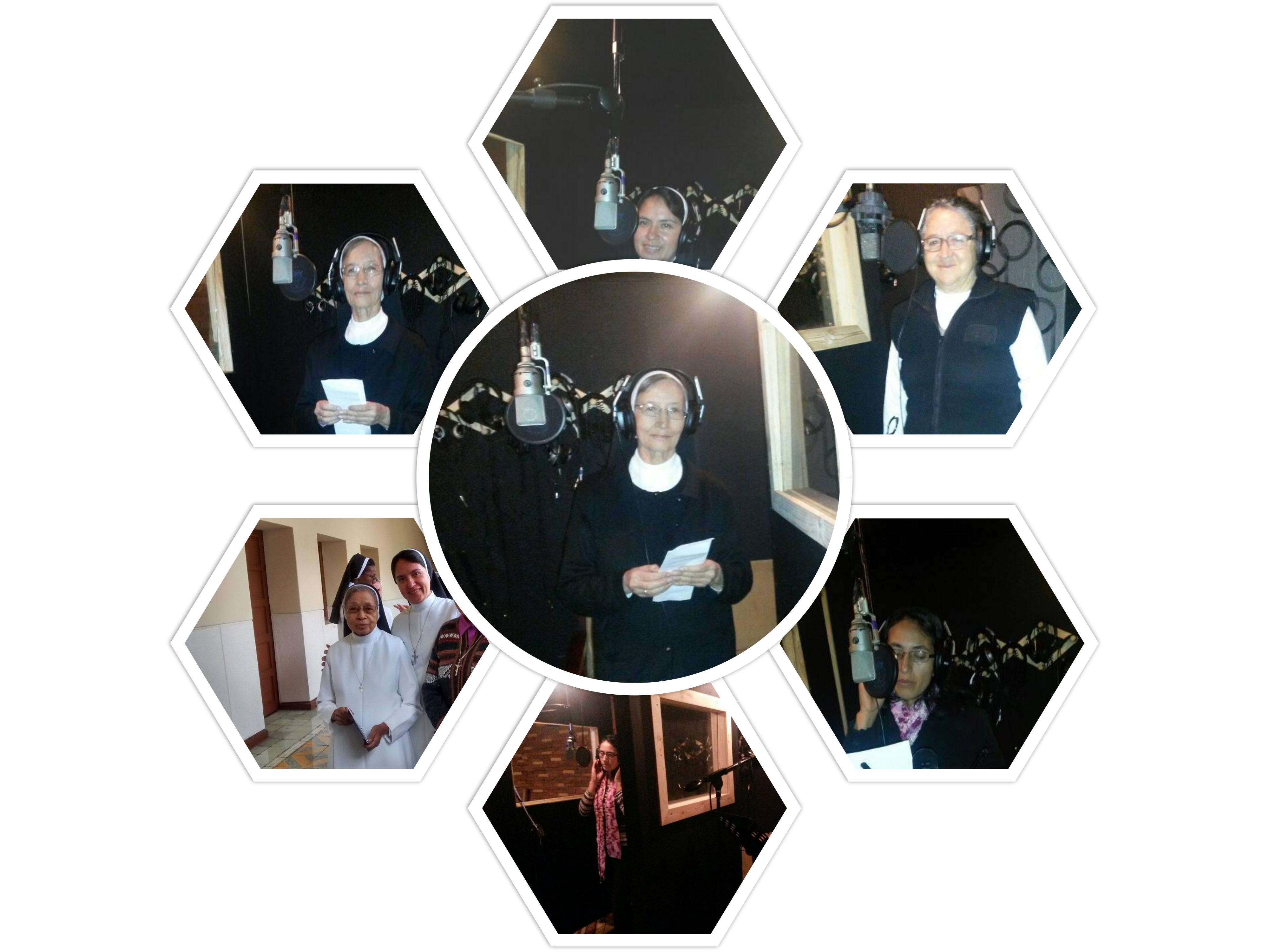 Creadoras del himno jubilar DIC